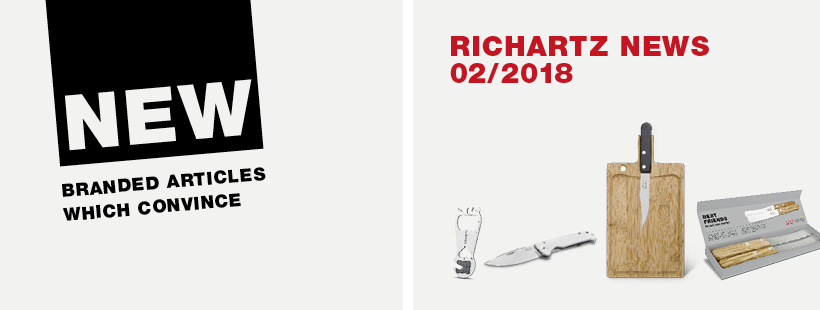 These are the RICHARTZ novelties 02/2018.