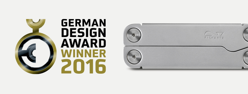 PURA tool by Richartz awarded with German Design Award 2016 Winner.